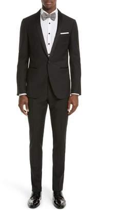 Lanvin Shawl Lapel Wool Blend Tuxedo