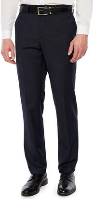 Jf J.Ferrar Geometric Slim Fit Stretch Suit Pants