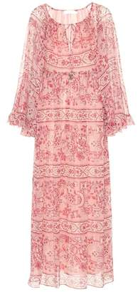 Zimmermann Castile printed silk midi dress