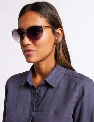 Marks and Spencer Rimless Square Sunglasses