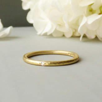 Chloé Shakti Ellenwood 18ct Fairtrade And Diamond Ethical Wedding Ring