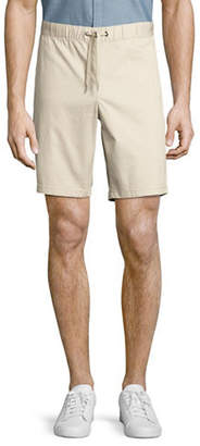 Black Brown 1826 Draw Cord Bedford Cord Shorts