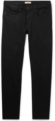 Burberry Slim-Fit Stretch-Denim Jeans - Men - Black