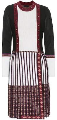 Etro Knitted wool-blend dress