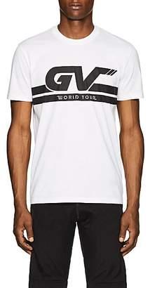 "Givenchy Men's ""World Tour"" Cotton T-Shirt - White"
