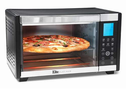 Elite by Maxi-Matic 6-Slice Platinum Convection Toaster Oven