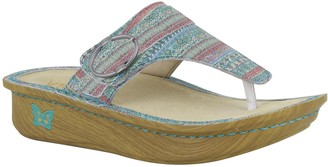 Alegria Leather Slip-On Sandals - Codi