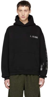 Alexander Wang Black Credit Card Hoodie