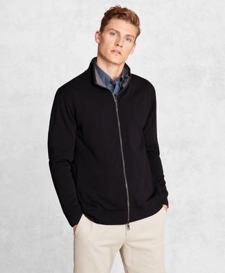 Brooks Brothers Golden Fleece BrooksTech French Terry Full-Zip Jacket