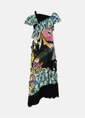Mary Katrantzou Carmen Dress Collage