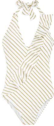 Ralph Lauren Shaping Halter Swimsuit