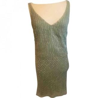 Cynthia Rowley Green Glitter Dress for Women