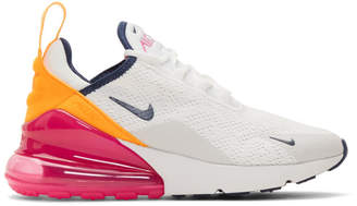 Nike White Air Max 270 Sneakers