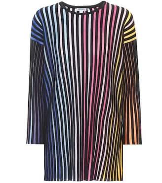 Kenzo Striped cotton-blend top