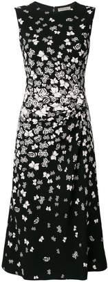 Bottega Veneta nero triacetate dress