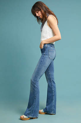 MiH Jeans Marrakesh Mid-Rise Slim Flare Jeans