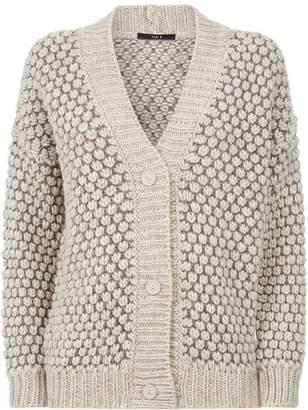SET Chunky Knit Cardigan