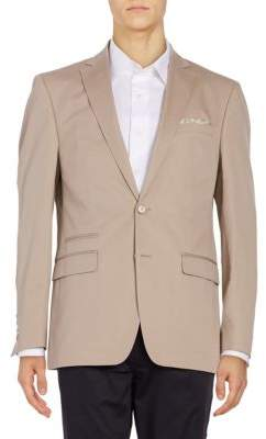 Tallia Orange Two-Button Sportcoat