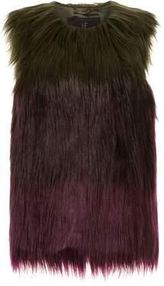 Unreal Fur faux fur Liquid Fudge Vest