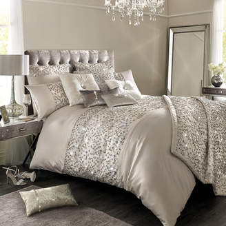 Kylie Minogue At Home at Home - Helene Duvet Cover - Nude - King