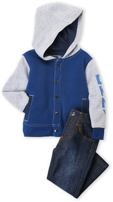 DKNY Toddler Boys) Two-Piece Hoodie & Jeans Set