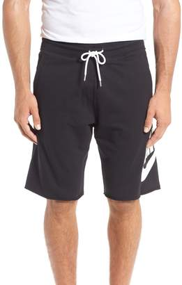 Nike 'NSW' Logo French Terry Shorts