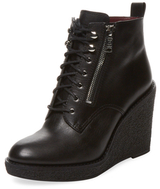 Kit Wedge Creeper Bootie $478 thestylecure.com
