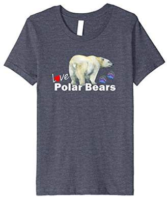 Love Polar Bears TEE SHIRT