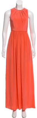 Tibi Silk Maxi Dress