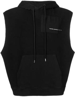 Marcelo Burlon County of Milan Ali Rings sleeveless hoodie