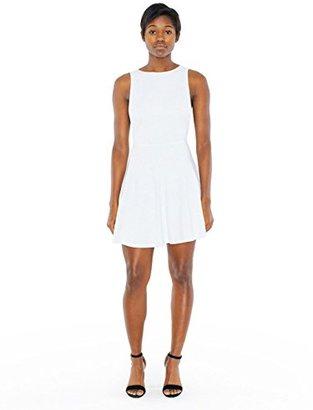 American Apparel Women's Ponte Sleeveless Skater Dress $68 thestylecure.com