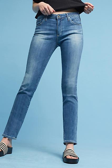 AG JeansAG Harper Mid-Rise Straight Jeans