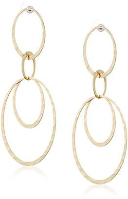 Pilgrim Women Gold Plated Statement Earrings - 261742003