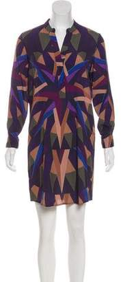 Mara Hoffman Geometric Print Mini Dress
