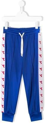 Diadora Junior side logo track pants
