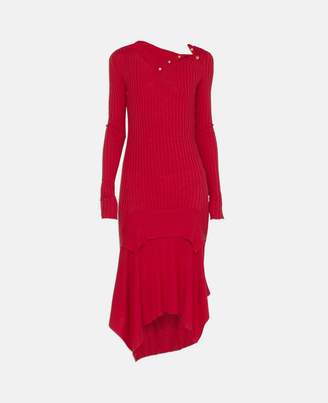 Stella McCartney lightweight red knit dress