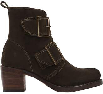 Frye Sabrina Double Buckle Boot - Women's