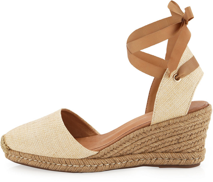 Schutz Pahla Natural Strap Wedge