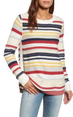 Caslon Reverse Stripe Sweater