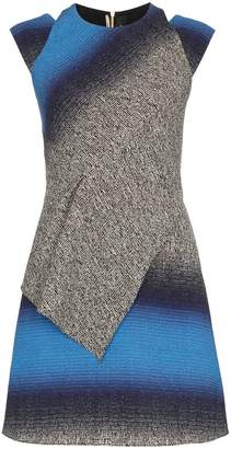 Roland Mouret Torrens crew neck sleeveless dress