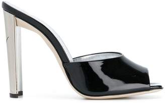Giuseppe Zanotti Design Haileen mirrored mules