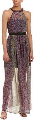 BCBGeneration Halter Maxi Dress