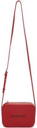Balenciaga Red XS Everyday Camera Bag