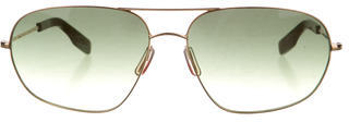 Paul Smith Gradient Aviator Sunglasses $85 thestylecure.com