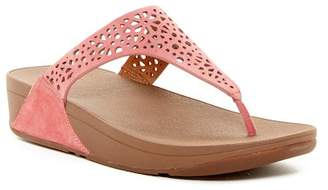 Fitflop Laser Micro Wobble Board Sandal - RACK Exclusive $100 thestylecure.com