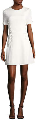 Cushnie et Ochs Laced Mini Dress