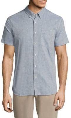 AG Jeans Short Sleeve Cotton Shirt