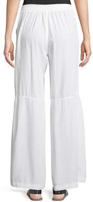 XCVI Tory Tiered Wide-Leg Pants