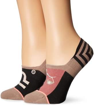 Stance Women's Libra Zodiac Astrology Print Super Invisible Sock