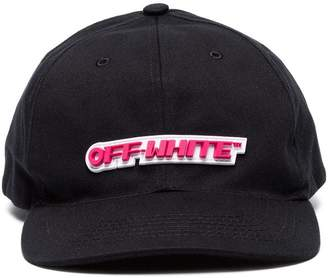 Off-White Rubber logo baseball cap